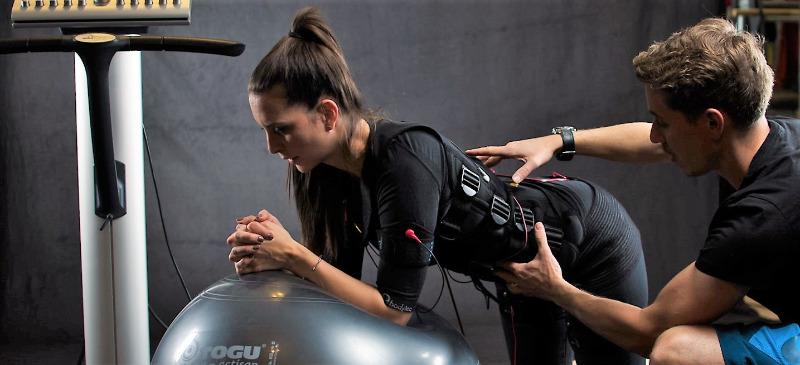 EMS-Training immer mit Trainer