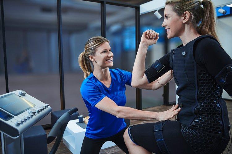 EMS-Training Abnehmen