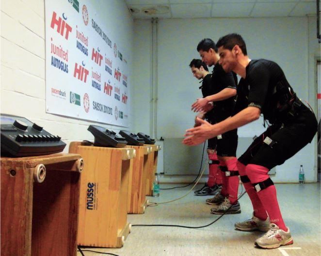 EMS-Training Profifußball