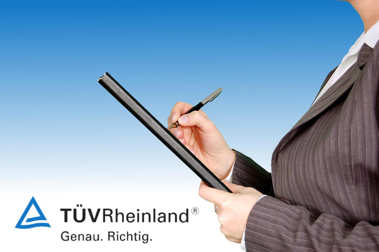 TÜV-Zertifizierung für EMS-Studios
